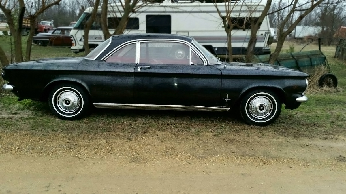 Stored for 38 Years: 1962 Chevrolet Corvair Monza