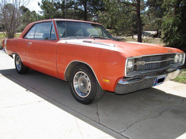 081716 Barn Finds - 1969 Dodge Dart Swinger - 2