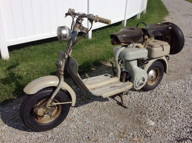Uncovered: 1956 Lambretta 150 D