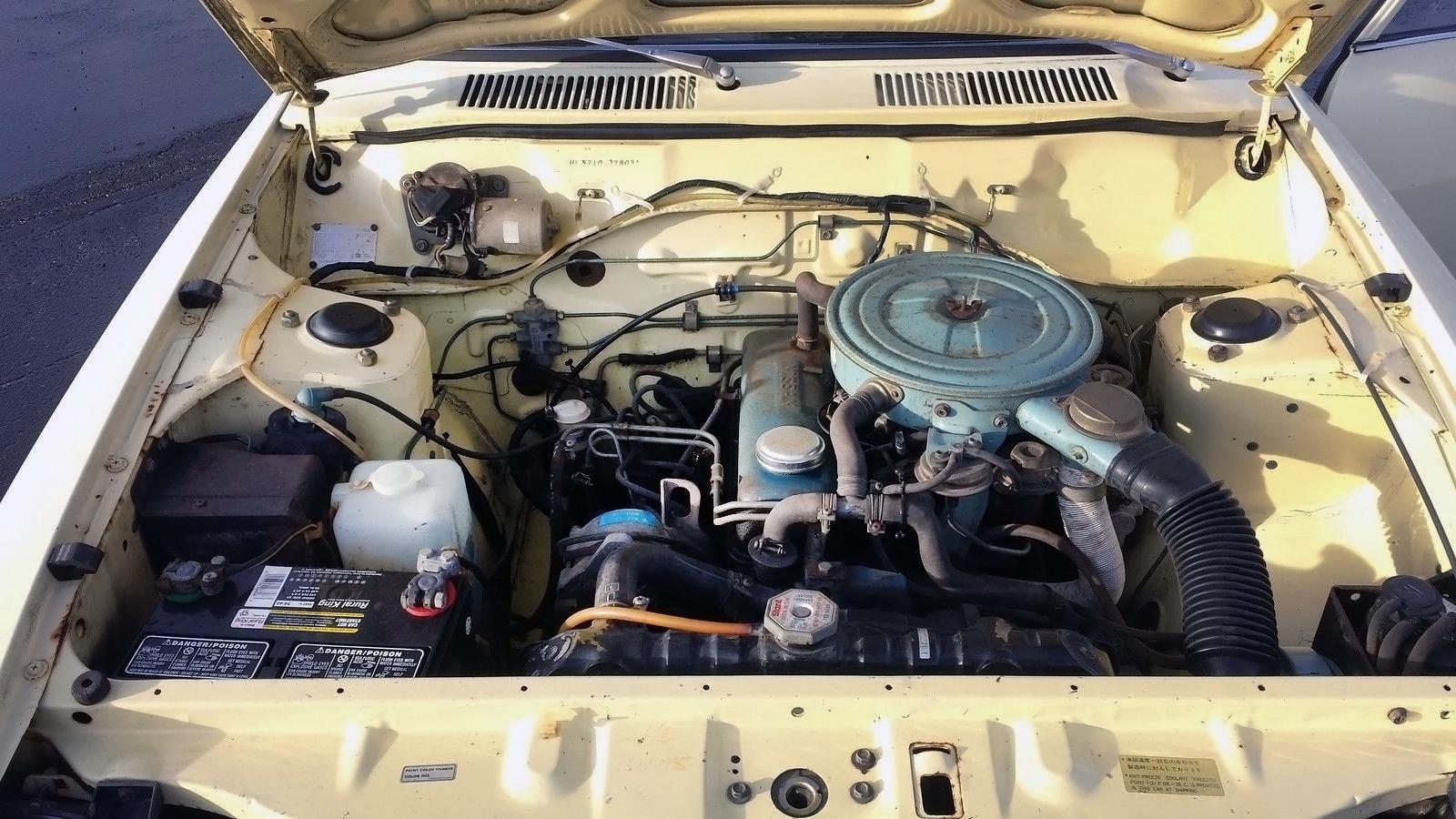 Honey Bee 1978 Datsun B210 Sedan