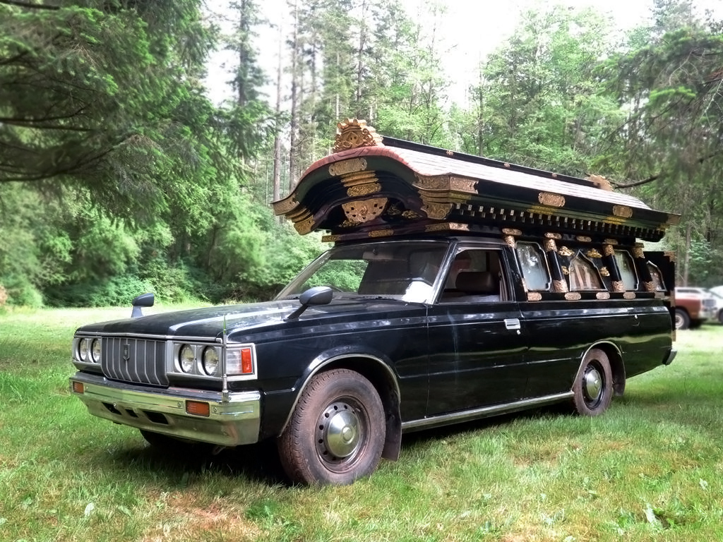 Toyota Crown 2016 Price In Usa >> Death Trap: 1983 Toyota Crown Hearse