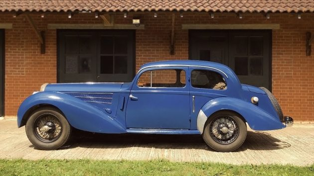 083116 Barn Finds - 1938 Delahaye 135 - 1