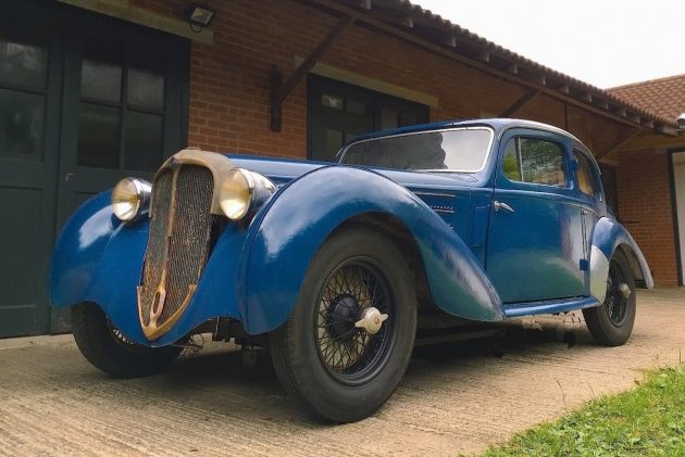 083116 Barn Finds - 1938 Delahaye 135 - 2