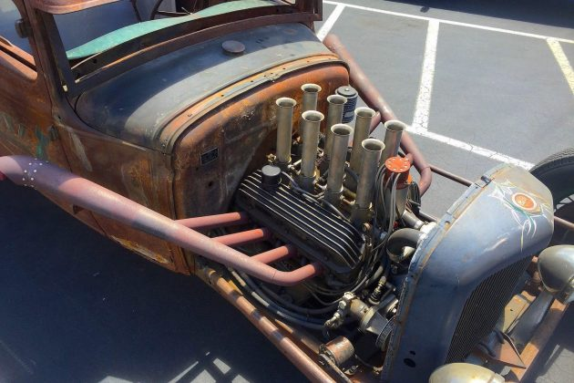 1931 Ford Model A Engine
