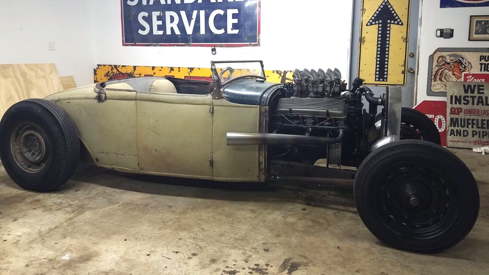 cadillac powered 1931 ford model a!
