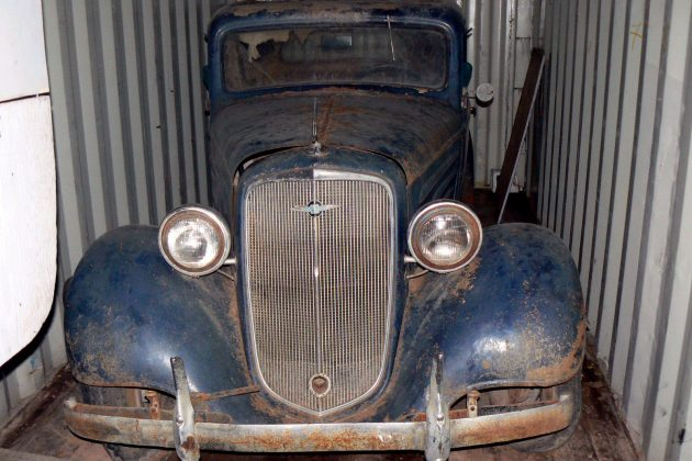 Three Window Barn Find: 1935 Chevrolet Coupe
