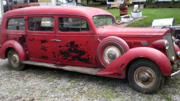 Life After Death: 1936 Packard Henney Hearse