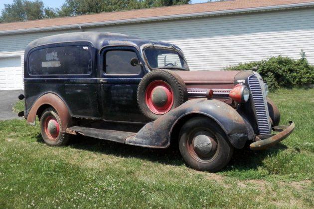 Humpback Wagon: 1937 Dodge Panel Truck