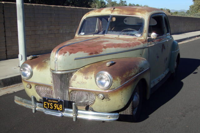 Car Paint For Sale >> Rich With Patina: 1941 Ford Super Deluxe