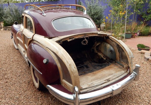 1947 Chrysler Town And Country Trunk