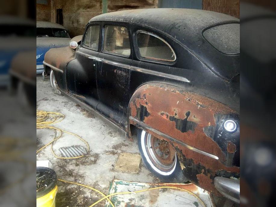 Barn Found Vintage Mopar: 1947 DeSoto
