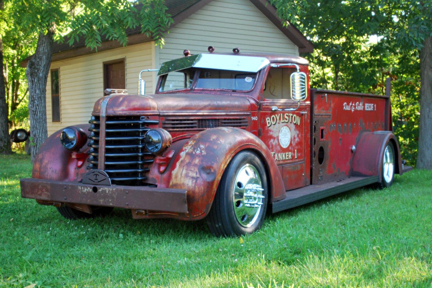 Fire Truck For Sale >> Fiery Hot Rod: 1947 Diamond T