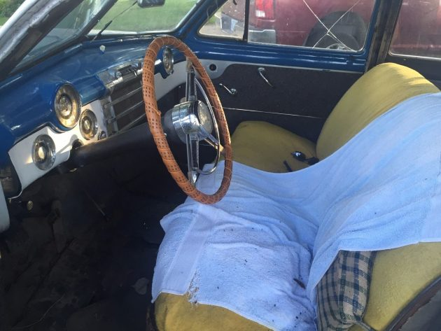 1948 Buick Super Interior