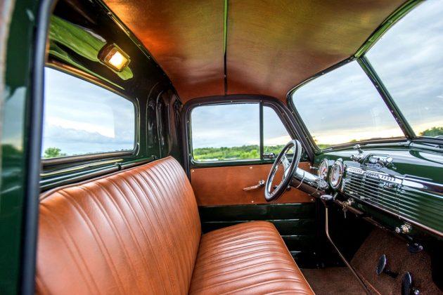 1951 GMC Truck Interior