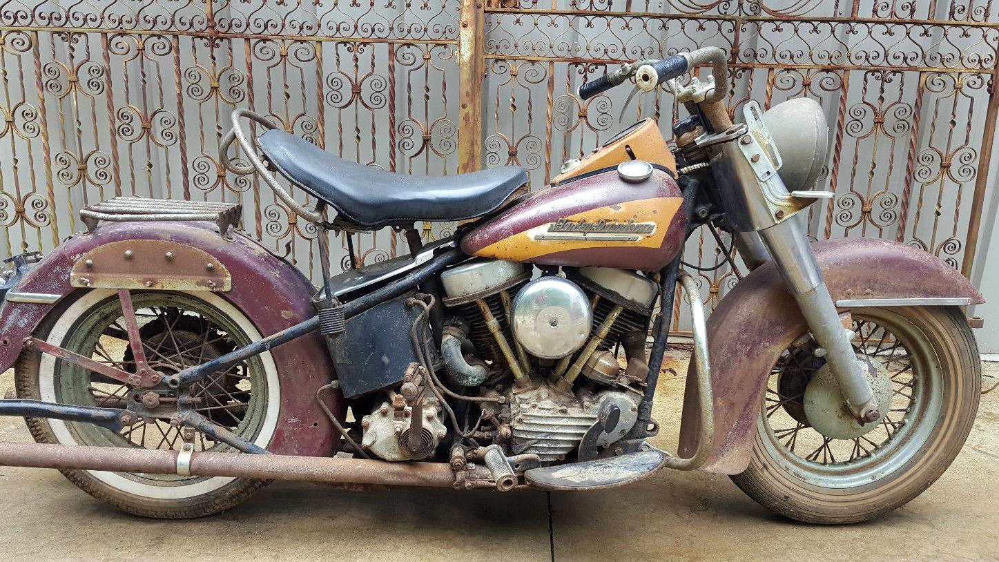 Sturgis Or Bust: 1951 Harley-Davidson Project