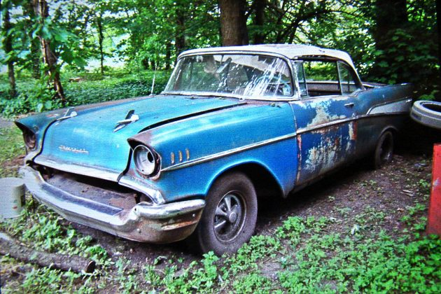 Next To The Barn: 1957 Chevrolet Bel Air