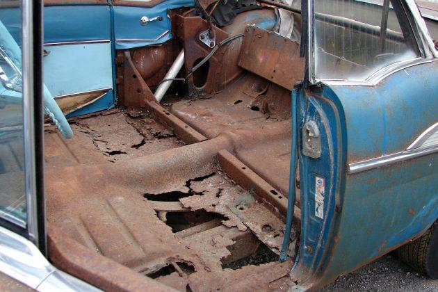 1957 Bel Air Convertible Floors