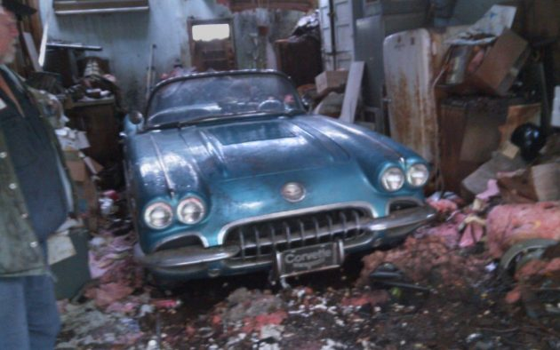 Could This '58 Corvette Be An Original Fuelie?