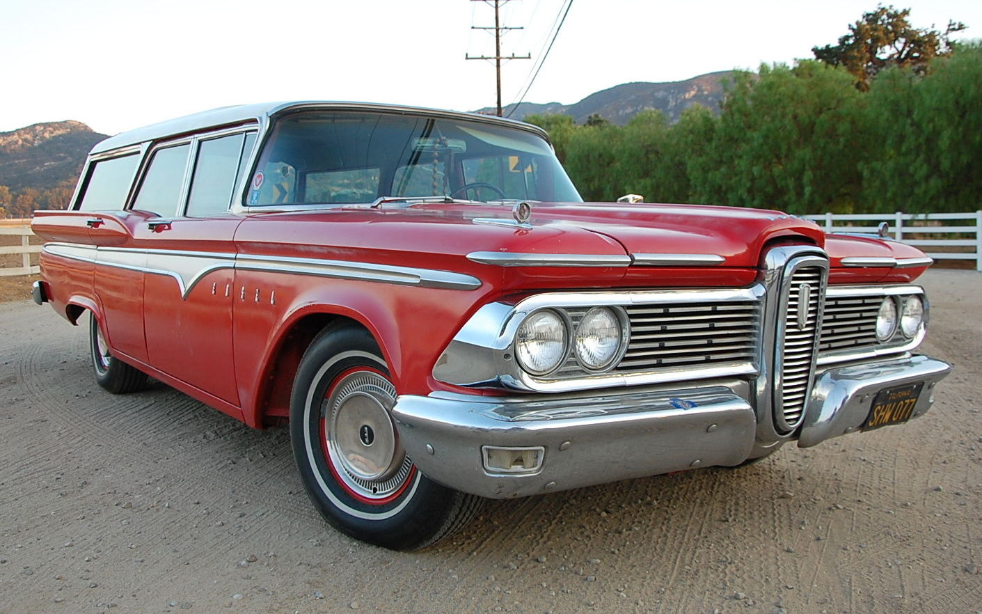 Controversial Classic 1959 Edsel Villager