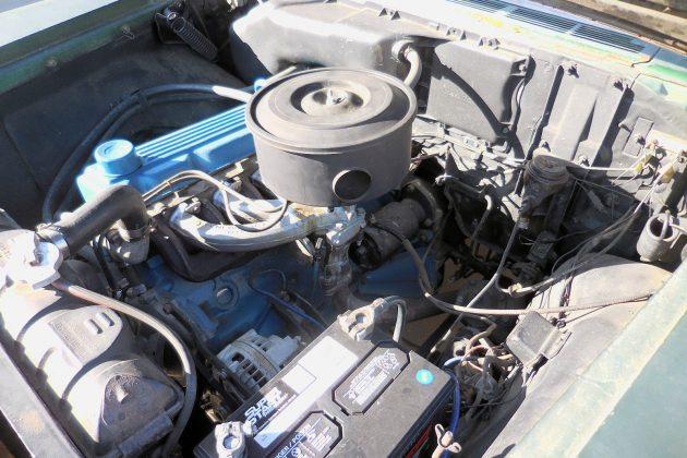 1960 Plymouth Savoy Engine