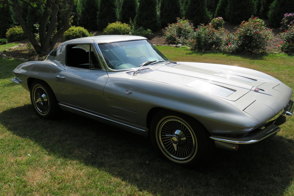 340 horse splitty 1963 corvette coupe for 1963 corvette split window coupe