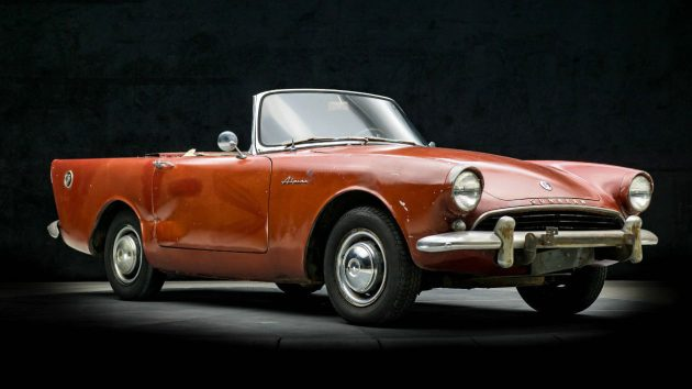 Glamour Shots: 1963 Sunbeam Alpine