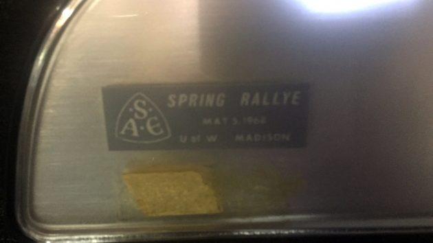 1965 Spring Rallye Badge