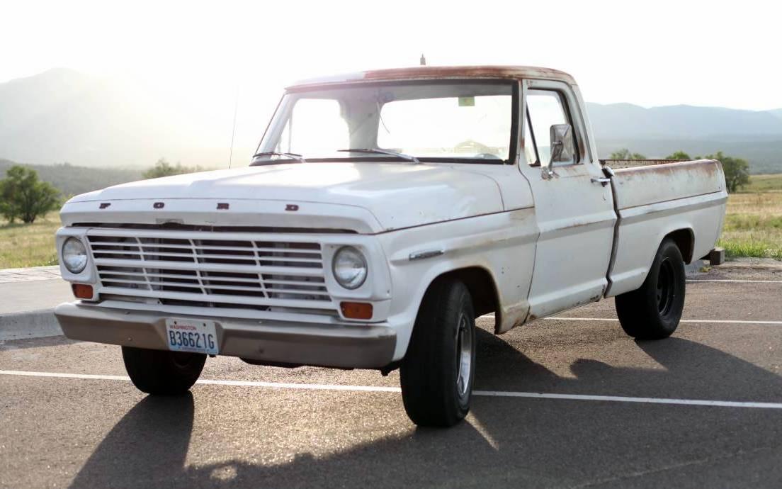 Short Bed Big Block: 1967 Ford F100