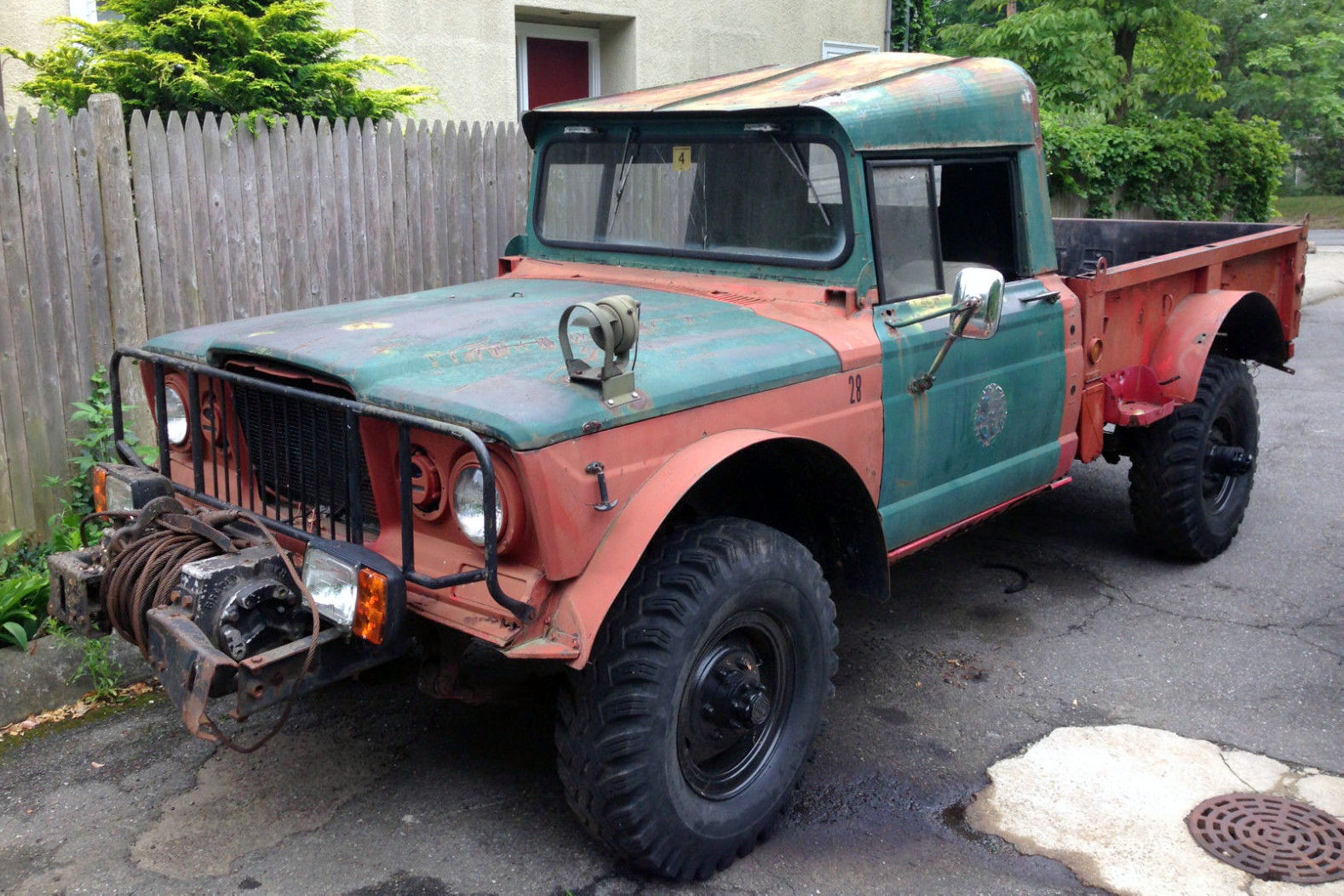 car trucks for sale in craigslist with Military Gladiator 1968 Kaiser Jeep M715 on 1968 Cadillac Deville For Sale In Westford Massachusetts 01886 together with Al Ritters Wicked Cool 1952 Chevy 3100 besides 1953 56 Ford Truck Short Bed also 43035 1985 Ford Thunderbird Elan 50 V8 Garage Kept 71k Miles further Spring Special 1965 Ford Econoline Pickup.