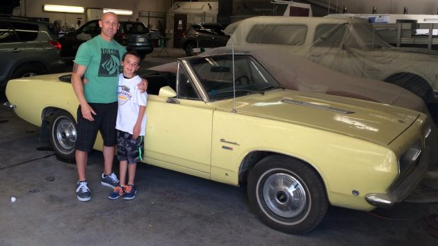 Father And Son Find: 1968 Barracuda Convertible