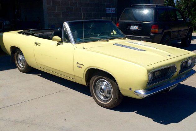 1968 Plymouth Convertible