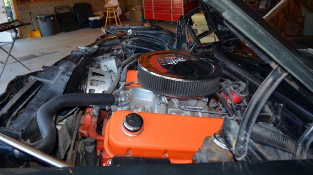 1969 Camaro SS396 Engine