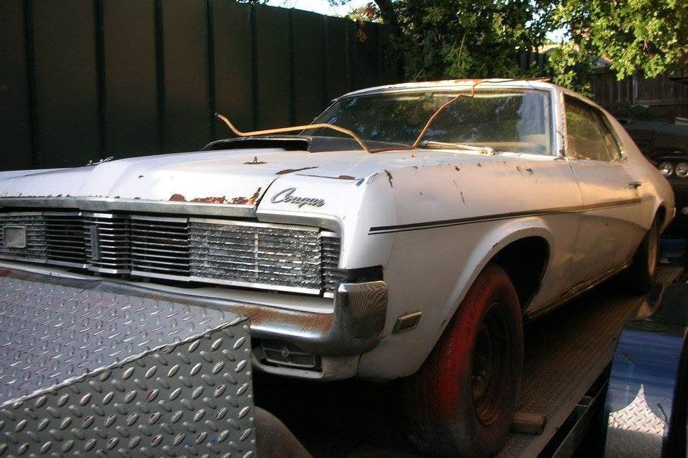 Car Tail Lights >> Rare 1969 Mercury Cougar Eliminator 302