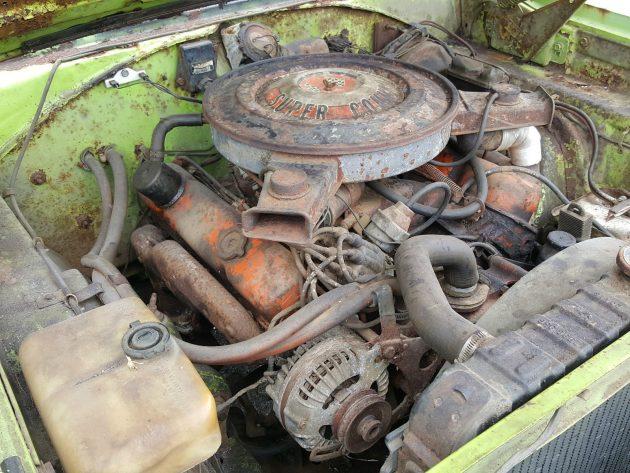 1970 Plymouth GTX 440 Engine