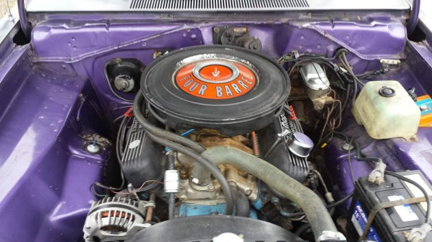 1971 Plymouth Duster 340 Engine