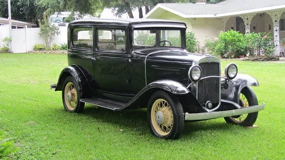 Prohibition Survivor 1931 Chevrolet Coupe