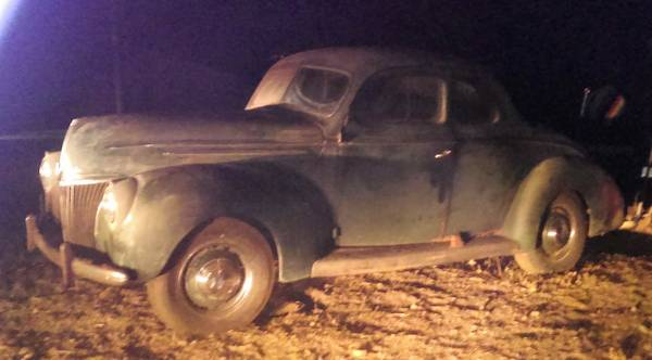 Evicted After 67 Years: 1939 Ford 5 Window Coupe