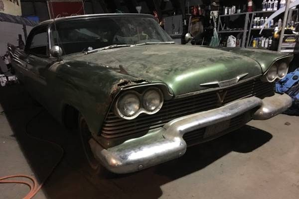 Christine's Brother: 1958 Plymouth Belvedere