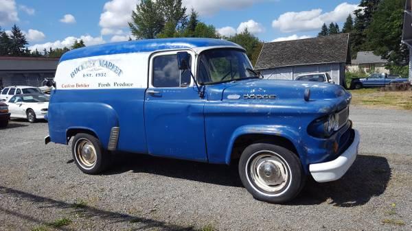 Cheap Movie Star: 1961 Dodge D100 Panel