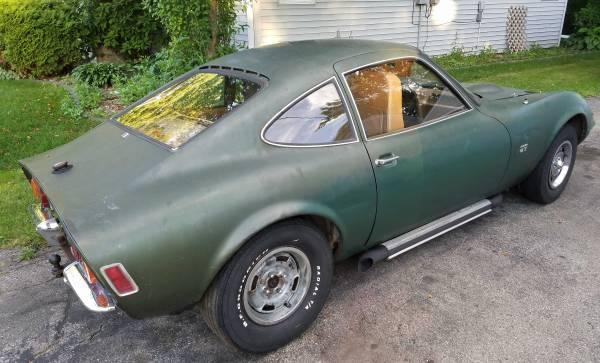 68 Opel gt v8 1