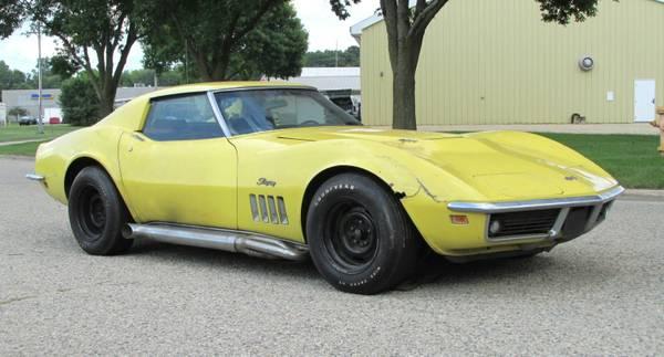 One Owner L71 1969 Chevrolet Corvette