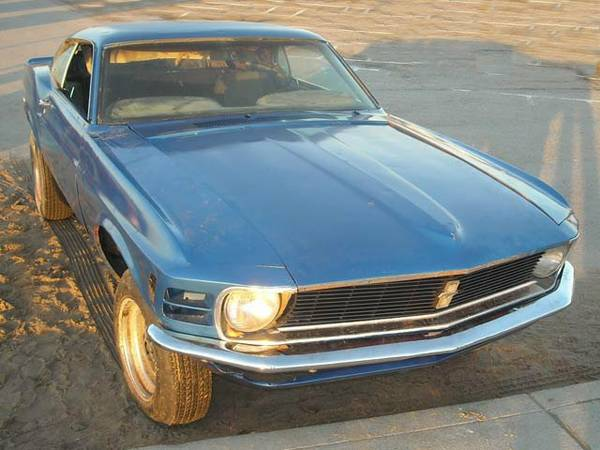 70 ford mustang 1
