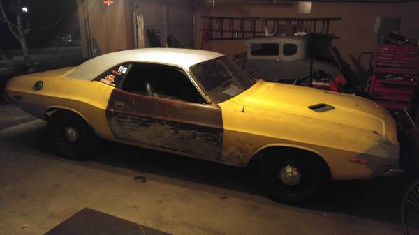 Challenging Project: 1973 Dodge Challenger