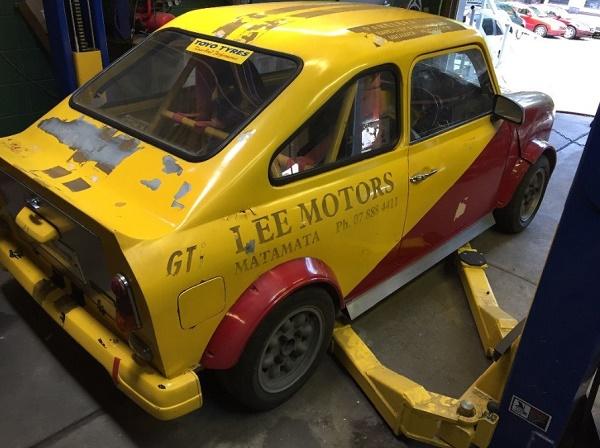 Fastbacked: 1977 Austin Mini