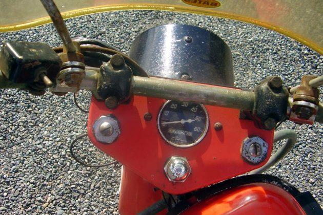 Cushman Scooter Gauge