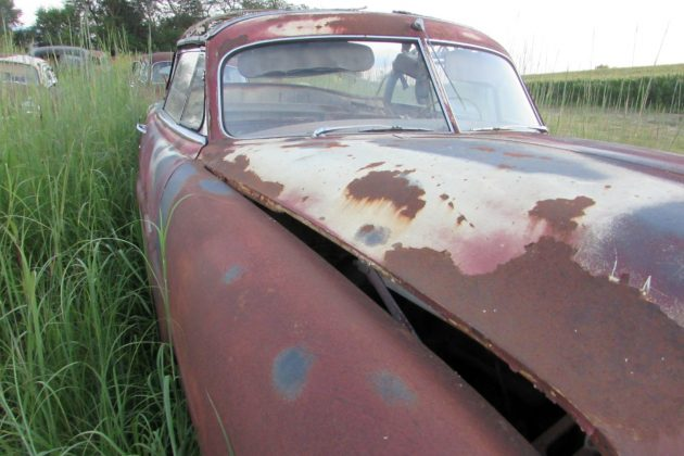 Hudson Convertible Out Of The Barn