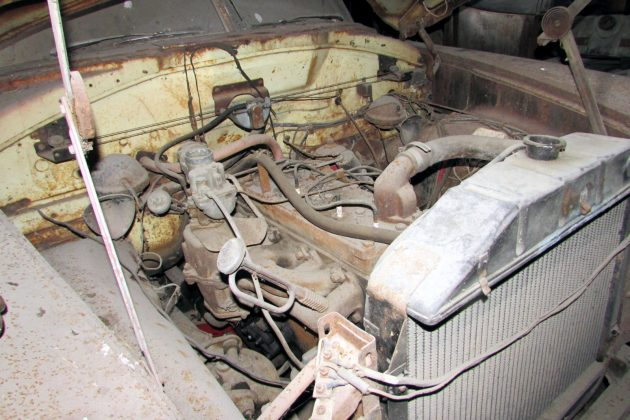 Hudson Hornet Engine