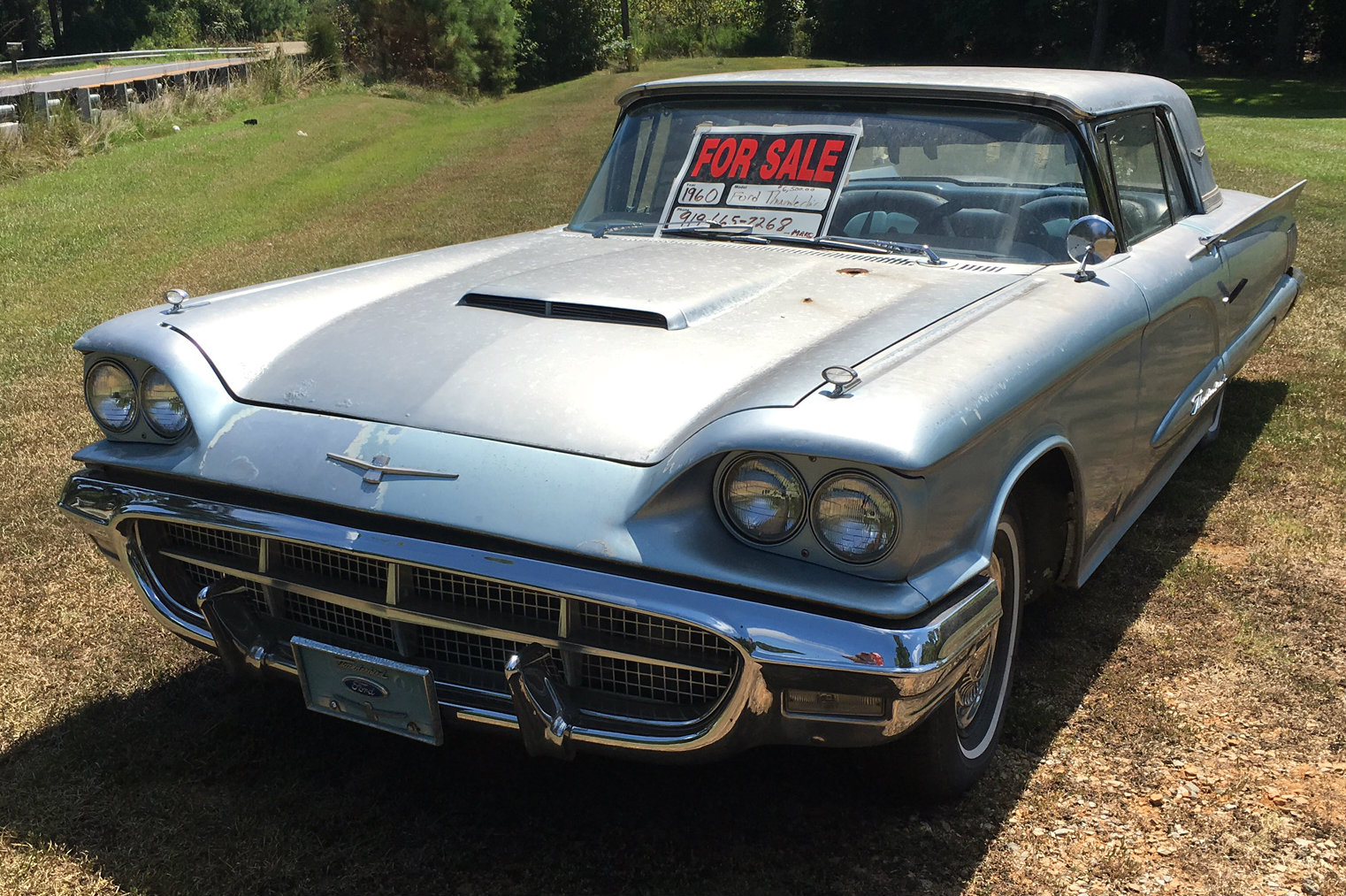 roadside find 1960 ford thunderbird. Cars Review. Best American Auto & Cars Review