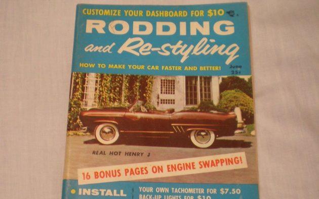 Rodding and Restyling Magazine June 1956