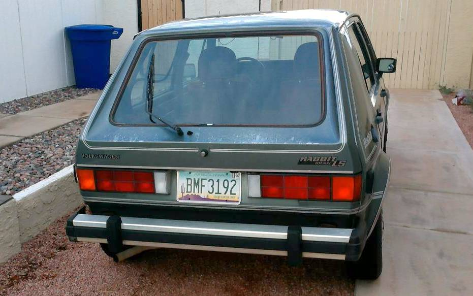 Cheap Driver 1981 Vw Rabbit Diesel Ls